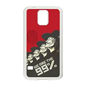 J-LV-F V for Vendetta Phone Case For Samsung Galaxy S5 i9600 [Pattern-1]