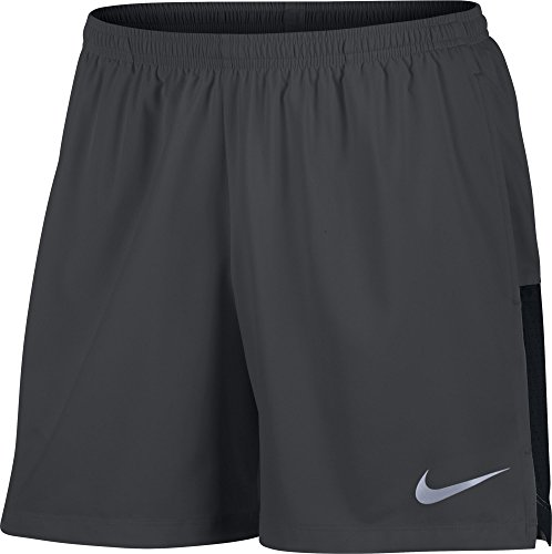 Men's Nike Flex Running Short Anthracite/Black Size Large