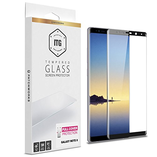 Samsung Galaxy Note 8 Screen Protector, Patchworks ITG 9H Hardness Oleophobic Coated Anti-Scratch Anti-Fingerprint Glass from Japan Tempered Glass Screen Protector for Galaxy Note 8 (2017)