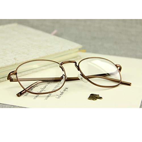 Frame Olprkgdg Vue Round Reyro Unisexe Ordonnance color De Brass Brass Eyewear Lunettes Sans Uqq4ZT