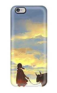 Excellent Design Original Animal Brownclouds Grass Kyouichi Sky Stars Sunset Twintails Case Cover For iphone 5c