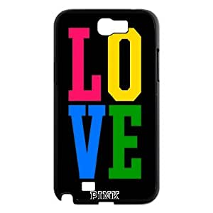 High Quality Phone Case For Samsung Galaxy Note 2 Case -Love Pink,Love Life-LiuWeiTing Store Case 17