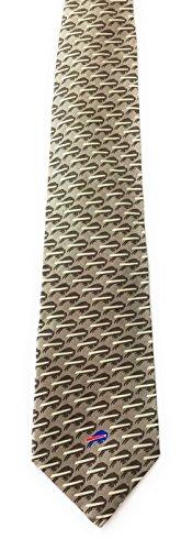 Tie Licensed - NEW BUFFALO BILLS TONAL NECKTIE LICENSED NFL 100% Silk By Ralph Marlin 2179