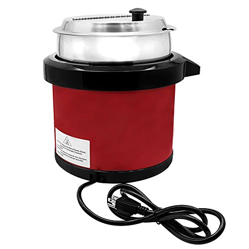 Chef's Supreme - 7 qt. 120v Red Soup Kettle w/ Digital Display by Chef's Supreme (Image #3)