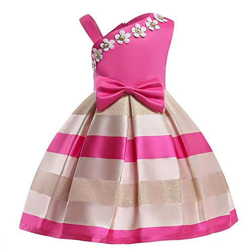Girls Dress Summer Kids Dresses for Girl Princess Children Baby Tutu 2 3 4 5 6 7 8 9 10 Years,As Picture14,9 ()