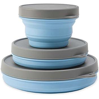 Reuseit Stain Resistant, BPA   Free, Freezer Safe, Microwave Safe,  Dishwasher Safe