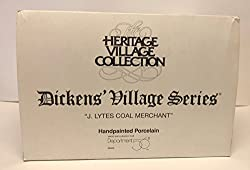 "Department 56 ""J. Lytes Coal Merchant"" Dickens Village Retired"