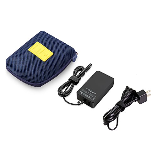 Surface Pro 4 Charger Surface Pro 3 Charger Surface Pro Charger, 36W 12V 2.58A Power Supply Compatible Microsoft Surface Pro 3 Surface Pro 4 i5 i7 Surface Pro 5 Surface Laptop Including Carrying Pouch by KINGDO (Image #4)