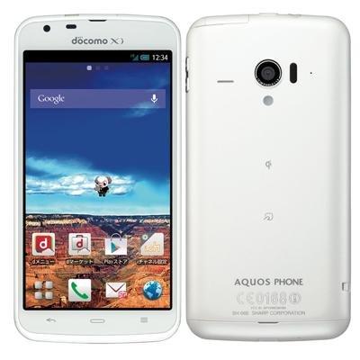 AQUOS PHONE ZETA SH-06E(ホワイト)