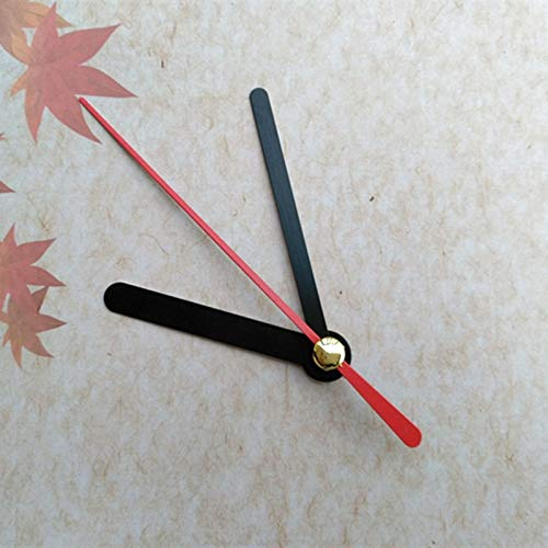 Maslin 100SETS Clock Quartz RED Second Metal Clock Arms DIY Repair Desk Clock Accessories