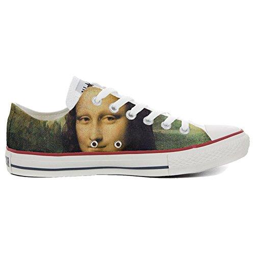 Converse All Star Chaussures coutume mixte adulte (produit artisanalPersonnalisé) La Gioconda