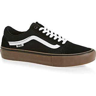 Vans Old Skool Pro Black/White/Medium Gum Men's 9, Women's ...