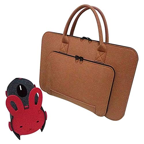 - Value-5-Star - Felt Universal Laptop Bag Notebook Case Briefcase Handlebag Pouch For Macbook Air Pro Retina 11-12 Inch Men Women