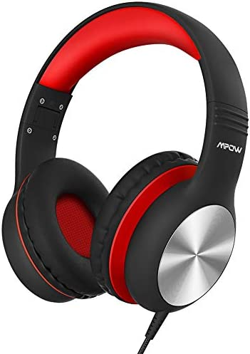 Mpow CH6 Pro Kids Headphones Over-EarMicrophone and Volume Limited 85dB/94dB Wired Headphone for Teens Girls Boys HD Stereo Headset w/Sharing Function Foldable Headset for School/PC/Cellphone