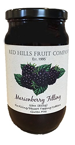 any Pie Filling, Marionberries, 29 Ounce (Pack of 4) (Fruit Filling)