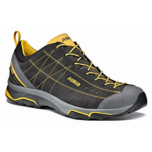 721b213639d Asolo NUCLEON GV Hiking Shoe - Mens, Graphite/Yellow, 10.5, A40012  A40012-Graphite/Yellow-10.5