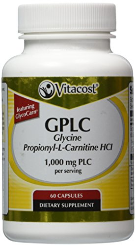 Vitacost GPLC Glycine Propionyl L Carnitine HCl GlycoCarn 1516 mg PLC per serving 60 Capsules