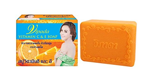 1 PC Vitamin C&E soap,natural herbal soap (130g) by vipada