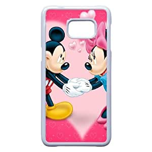 Samsung Galaxy S6 Edge Plus Cell Phone Case White Mickey Mouse Gqopnx Hard protective Case Shell Cover