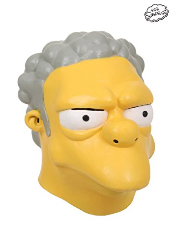 Moe Halloween Costume (The Simpsons Moe Szyslak Mask Standard)