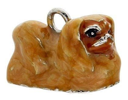 (Pekingese Enamel Key Chain by Little Gifts)