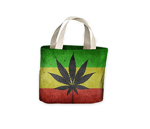 Bag Cannabis Rasta Flag Shopping Life For Tote UIHwqIxBrz