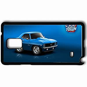 Personalized Samsung Note 4 Cell phone Case/Cover Skin 1920x1200 Blue 69 Camaro Black