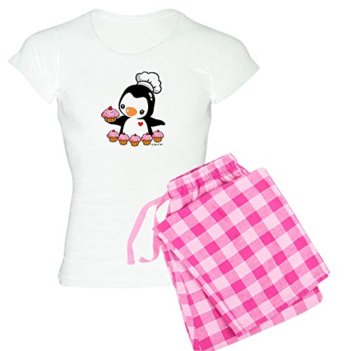 CafePress Cupcake Penguin Comfortable Sleepwear