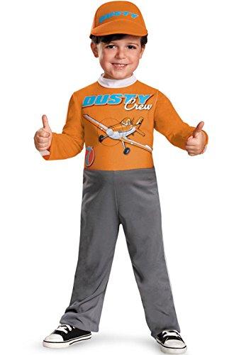 Mememall Fashion Planes Dusty Crophopper Toddler Halloween Costume (Dusty Crophopper Costume)