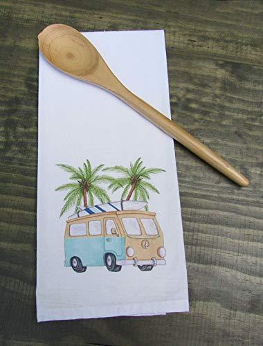 Retro VW Van and Palm Trees Print Kitchen/Bath Hand -