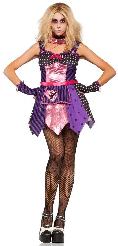 Gothic Ragdoll Costumes (Lip Service All Stitched Up Gothic Ragdoll Costume As Shown - Small)