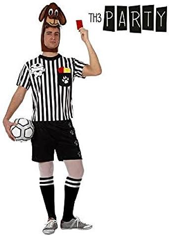 Disfraz para Adultos Th3 Party 5275 Perro árbitro de fútbol ...