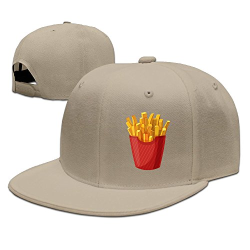 SSEE Unisex French Fries Adjustable Baseball Caps Natural (French Fry Costume Kids)