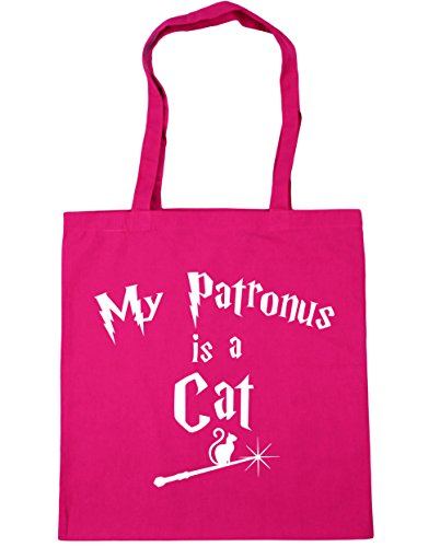 Cat Shopping 10 Patronus 42cm HippoWarehouse Gym A My Beach Fuchsia litres Bag x38cm Tote Is 7IBwawYqZ