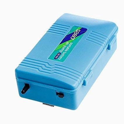 Beito portátil de baterías Aire Pond Desarrollado oxígeno de la bomba de reserva para peces de acuario tanque: Amazon.es: Productos para mascotas