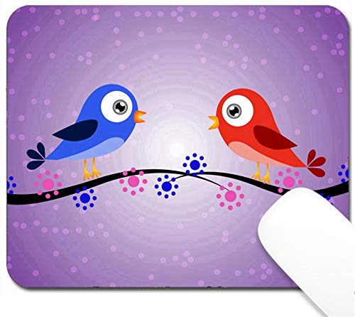 MSD Mouse Pad with Design - Non-Slip Gaming Mouse Pad - Image ID 23992950 Birds and dots