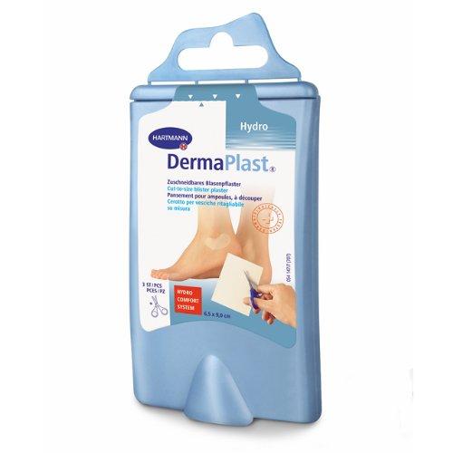 DermaPlast Cut-to-size zuschneidbares Blasenpflaster inkl. Schere