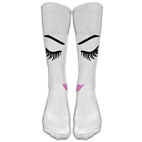 He Man Outfit (Girl Man Eyelash-01 Leisure Boot Socks 3D Socks Knee High Socks Compression Socks Sport Socks Unisex)