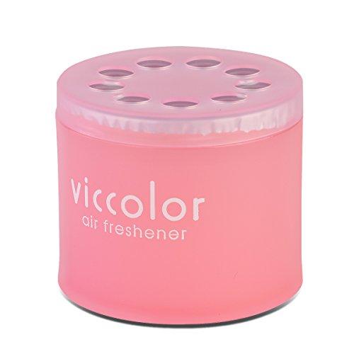 VicColor Gel Based Angel Snow Scent Japanese Under-The-CarAir Refresher / Odor Eliminator Can (Pink)
