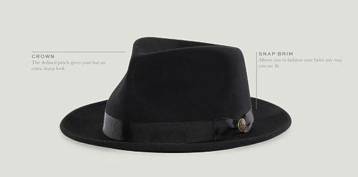 b8e7b35b2ab Goorin Bros. Men s The Doctor Hat at Amazon Men s Clothing store