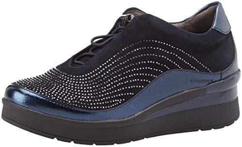 Infilare night Goat Blu Sneaker Metal Donna Stonefly 2 131 Blue Cream qtxw84qXC