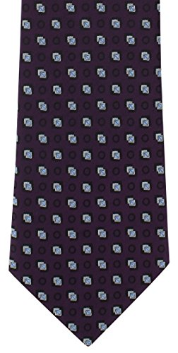 Purple London Diamond Motif Polyester Michelsons Tie of BPwqff