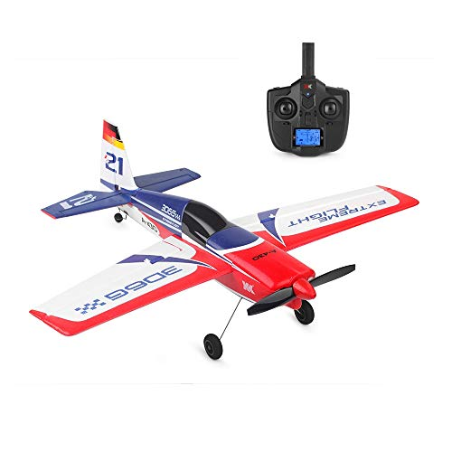 LONGZUYS RC Plane Glider - 2.4G 5CH Brushless Motor Remote Control Airplane, XK Series A430 5-Channel 3D6G System EPS Aircraft, RTF Remote Control Plane (1 × A430 RC Airplane)