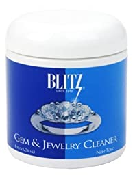 Blitz 651 6-Pack Gem and Jewelry Cleaner, 8 Fluid Ounce