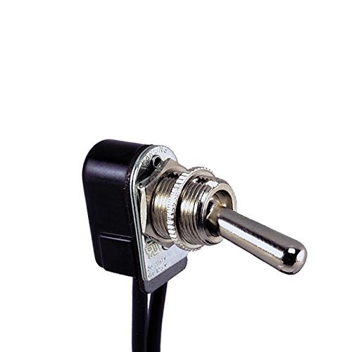 (Perko 0514DP 6-Amp Toggle Switch with Wire Leads)