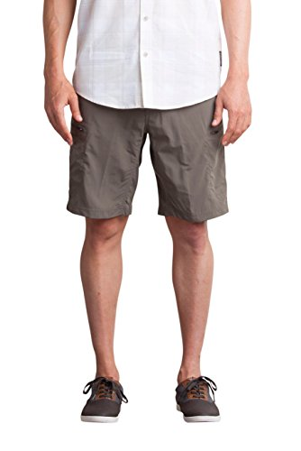 Officio Shorts Hiking Ex (ExOfficio Men's Sol Cool Camino Shorts 10'', Cigar, 38)