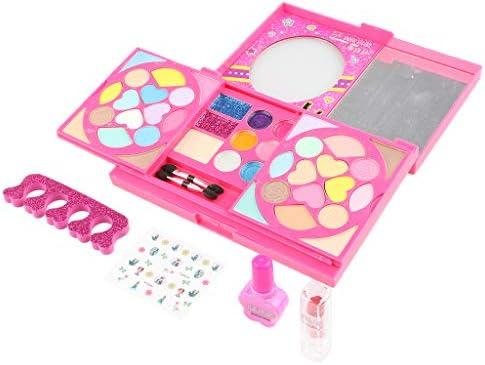 メイクアップセット お化粧セット コスメセット 子供用 ガールズコスメ玩具 ままごと プレゼント