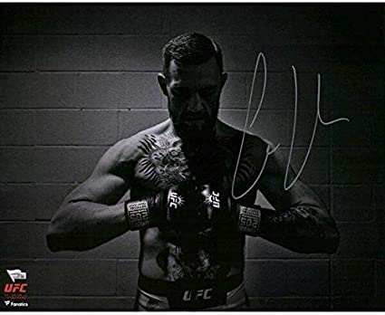 Fanatics Authentic Certified Conor McGregor Ultimate Fighting Championship Autographed 8 x 10 UFC 189 Mendes KO Photograph