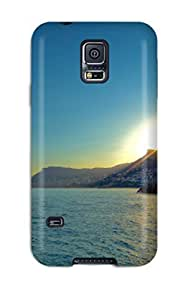New Arrival Cover Case With Nice Design For Galaxy S5- Coastline