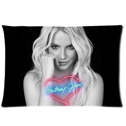 [Britney Spears Custom Rectangle Pillow Cases 20x30 (one side)] (Britney Spears One More Time Costumes)